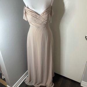 Birdie Grey formal dress SZ MED